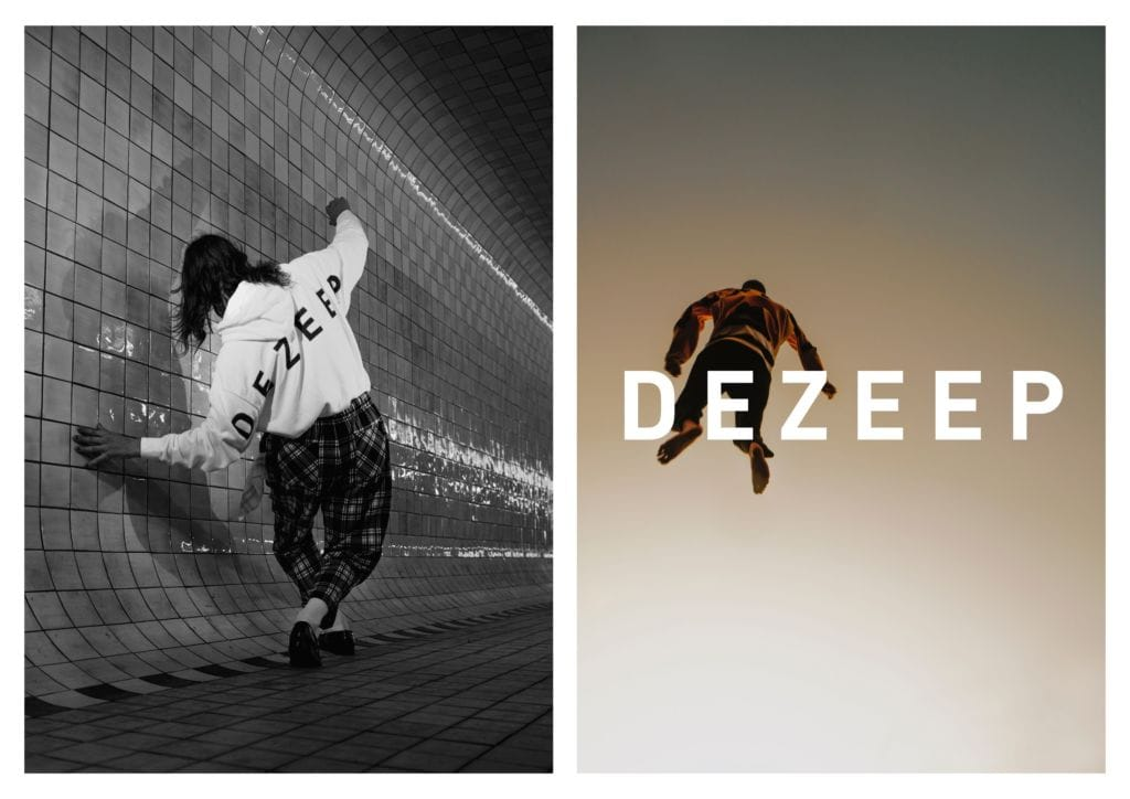 DEZEEP collection represented in showroom