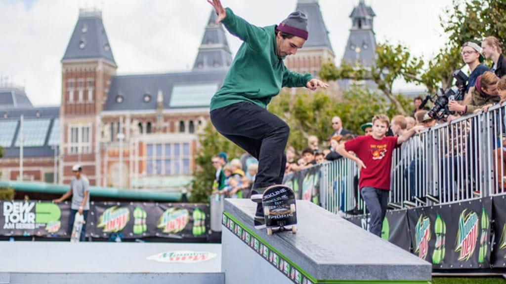 DEW Tour AM series